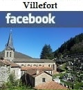 Villefort sur Facebook